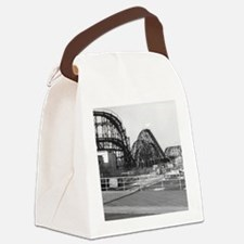 Coney Island Roller Coaster 18266 Canvas Lunch Bag