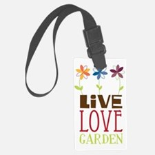 Live Love Garden Luggage Tag