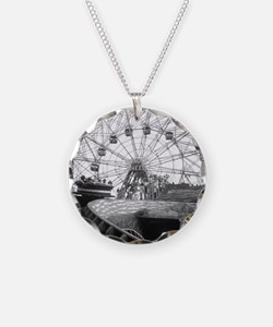 Coney Island Amusement Rides Necklace
