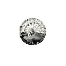 Coney Island Amusement Rides 1826612 Mini Button