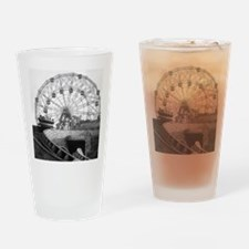 Coney Island Amusement Rides 182661 Drinking Glass