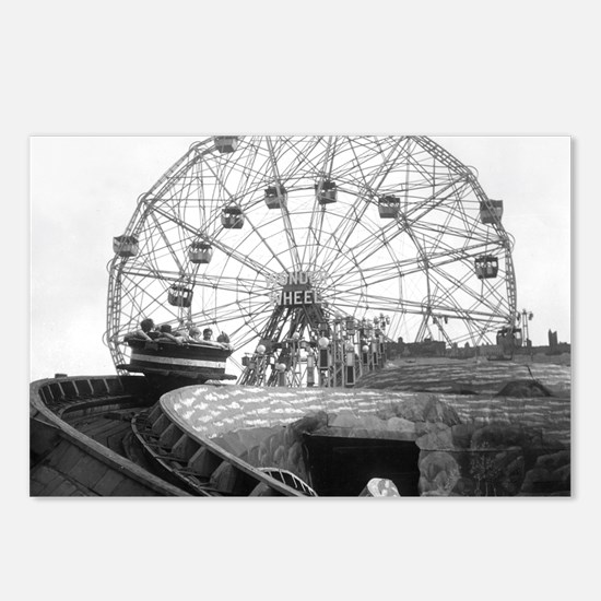 Coney Island Amusement Ri Postcards (Package of 8)
