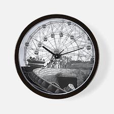 Coney Island Amusement Rides 1826612 Wall Clock