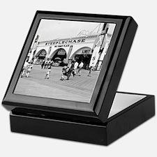 Steeplechase on Coney Island 1826580 Keepsake Box