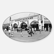 Steeplechase on Coney Island 182658 Decal