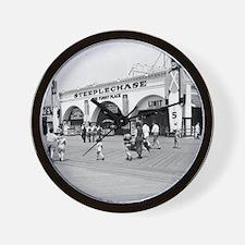 Steeplechase on Coney Island 1826580 Wall Clock