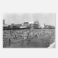 Coney Island Brighton Bea Postcards (Package of 8)