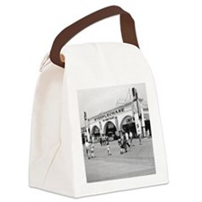 Steeplechase on Coney Island 1826 Canvas Lunch Bag