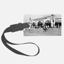 Steeplechase on Coney Island 182 Luggage Tag