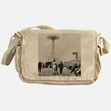 Coney Island Parachute Jump 1826579 Messenger Bag