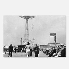 Coney Island Parachute Ju Postcards (Package of 8)