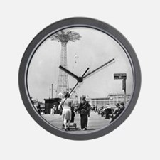 Coney Island Parachute Jump 1826579 Wall Clock