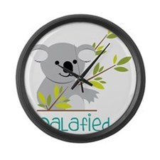 Koalafied Large Wall Clock