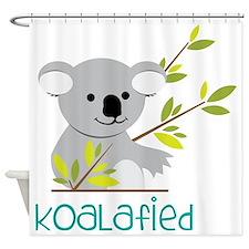 Koalafied Shower Curtain