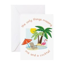 Only Things Missing Greeting Card