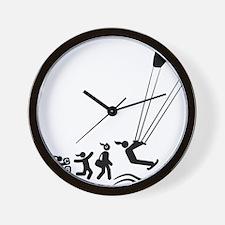 Kiteboarding-AAI1 Wall Clock
