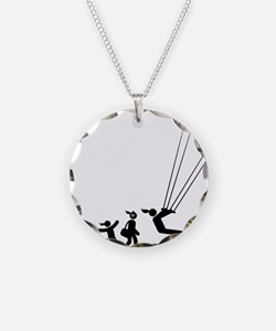 Kiteboarding-AAI1 Necklace Circle Charm