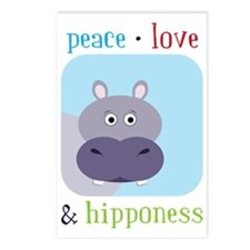Hipponess Postcards (Package of 8)