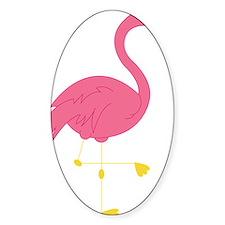 Pink Flamingo Decal