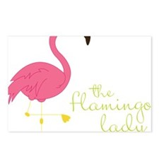 The Flamingo Lady Postcards (Package of 8)