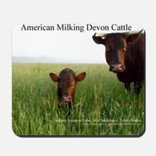 Milking Devon Cattle Mousepad