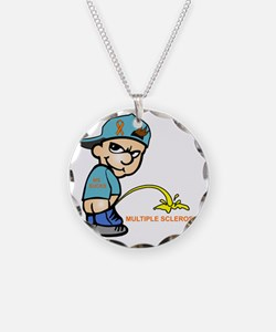Piss on MS Necklace
