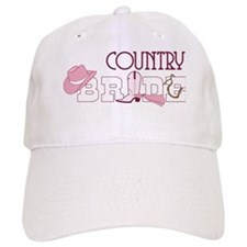 Country Bride Baseball Cap