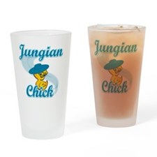 Jungian Chick #3 Drinking Glass