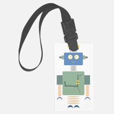 Robot Luggage Tag