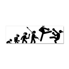 Kickboxing-AAH1 Car Magnet 10 x 3