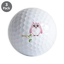 Awareness  Owl Golf Ball