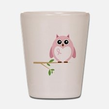 Awareness  Owl Shot Glass