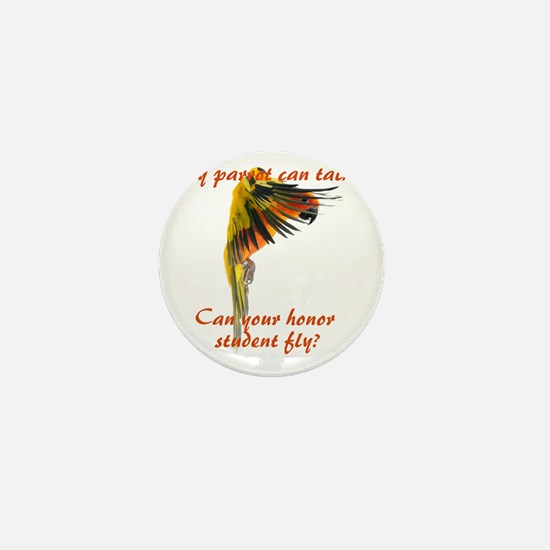 Sun Conure my parrot can fly Steve Dun Mini Button