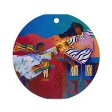 'Barrio Ascension' Ornament (Round)