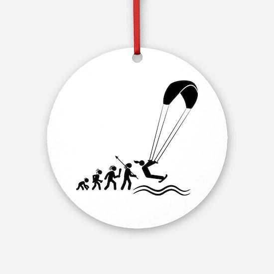 Kiteboarding-AAH1 Round Ornament