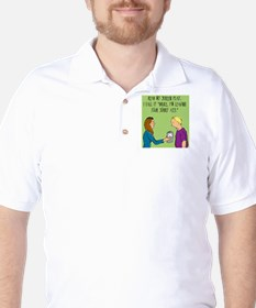 How_to_leave_a_cheater Golf Shirt