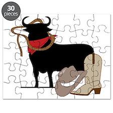 Bull Rider Puzzle