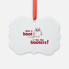 Give A Hoot Ornament