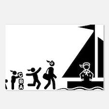 Sailing-AAI1 Postcards (Package of 8)