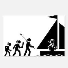 Sailing-AAH1 Postcards (Package of 8)