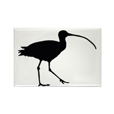 Curlew Rectangle Magnet