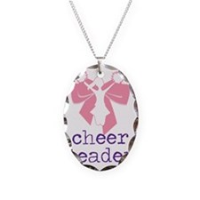 Cheer Leader Necklace Oval Charm
