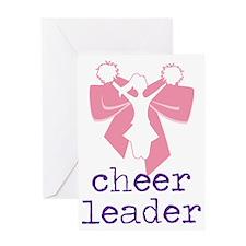 Cheer Leader Greeting Card