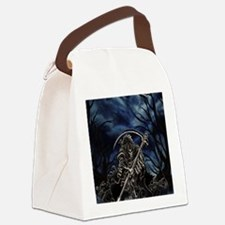 GRIM REAPER AT NIGHT Canvas Lunch Bag