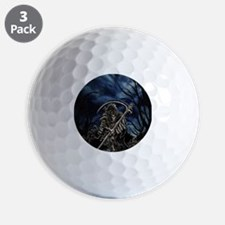 GRIM REAPER AT NIGHT Golf Ball
