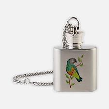 Wild Senegal Flask Necklace