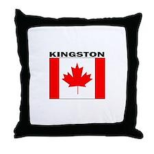 Kingston, Ontario Throw Pillow