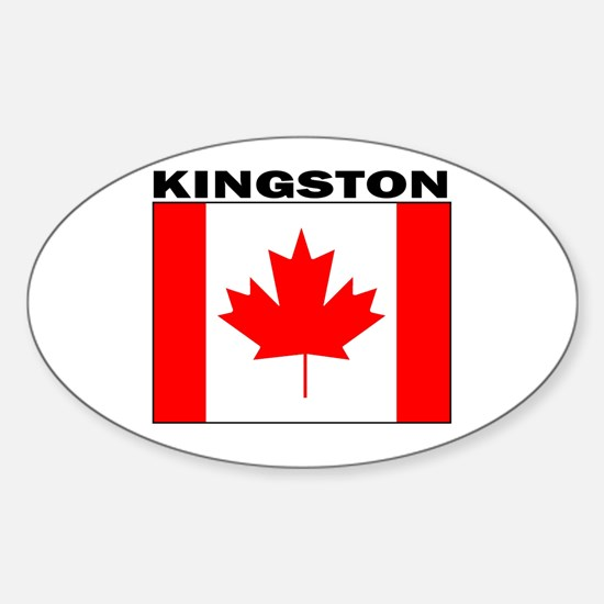 Kingston, Ontario Oval Decal