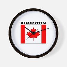 Kingston, Ontario Wall Clock