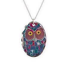 Averys Owl (journal) 2 Necklace Oval Charm